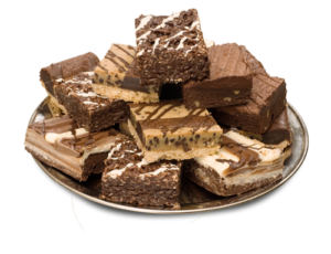 brownies-tray