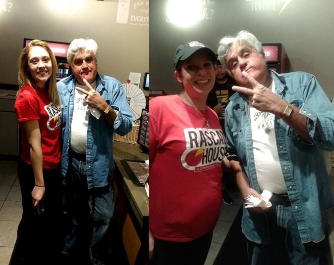#TBT Jay Leno Visits Cleveland Rascal House for Pizza!