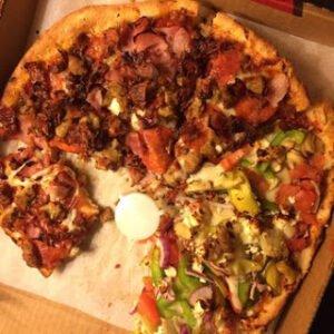 leftover pizza hack