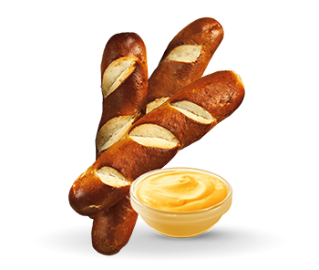 Jumbo Warm Pretzel Sticks